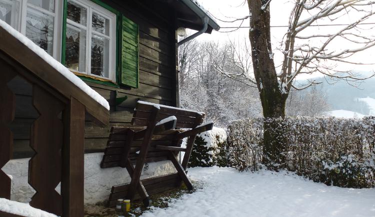 Ferienhaus Rosalinde - Terrasse