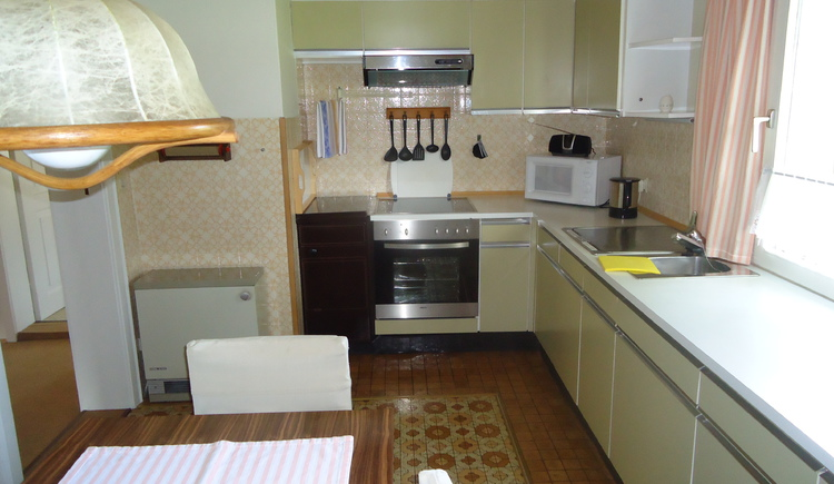 Kitchen in our second apratment.