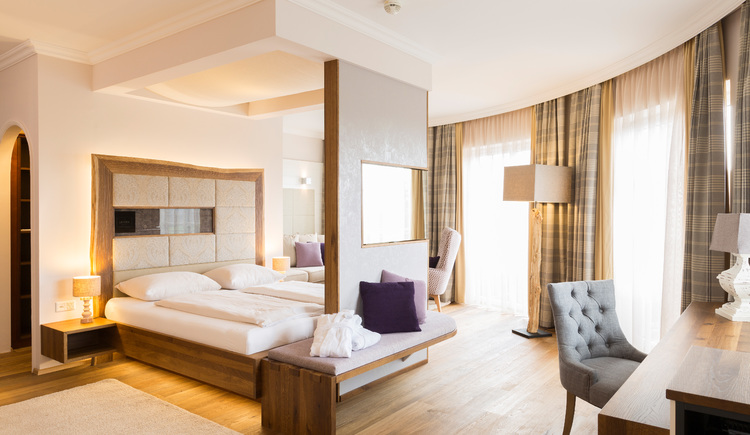 Hotel Guglwald****s Suite Leinen (© Hotel Guglwald)