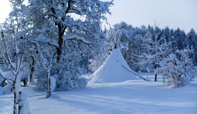 Wintertag am Rothstadlerhof