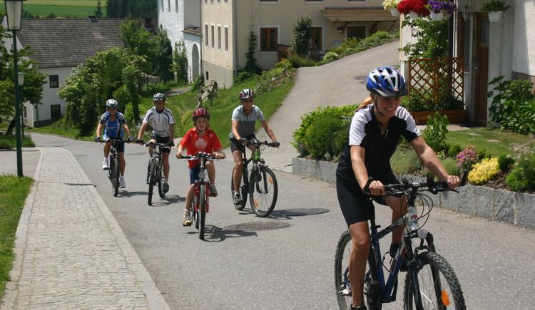 Biken in Grünbach (© MV Kernland)