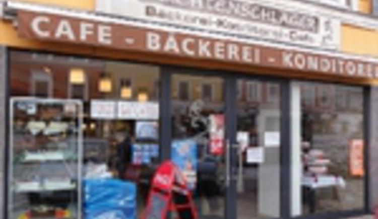 """Aussenansicht \""""Cafe Feichtenschlager\"""""""
