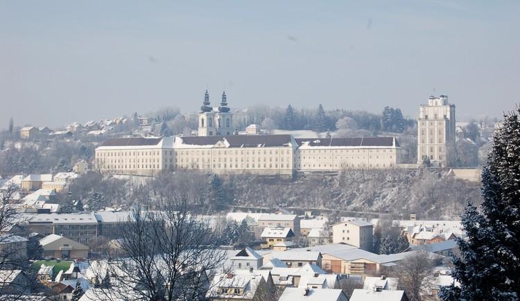Kremsmünster im Winter. (© Marktgemeinde Kremsmünster / Bernhard Kautny)
