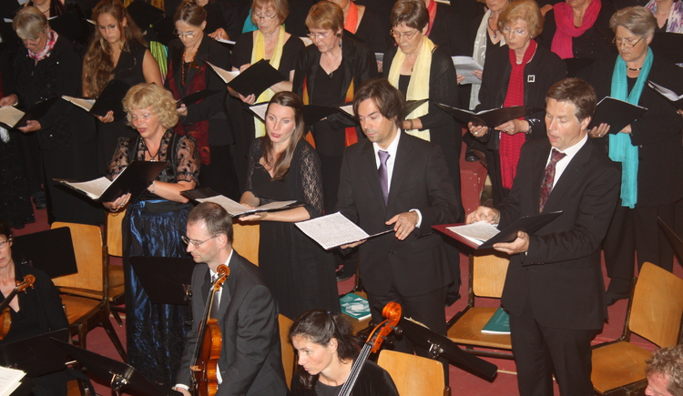 solists: Vera Steuerwald, Heike Keller, Thomas Jakobs, Stefan Geyer