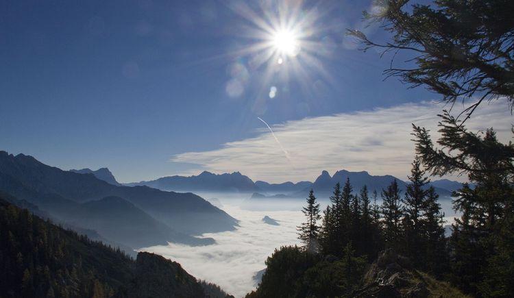 Morgenblick ins Ennstal (© TVB Pyhrn-Priel/Sulzbacher)