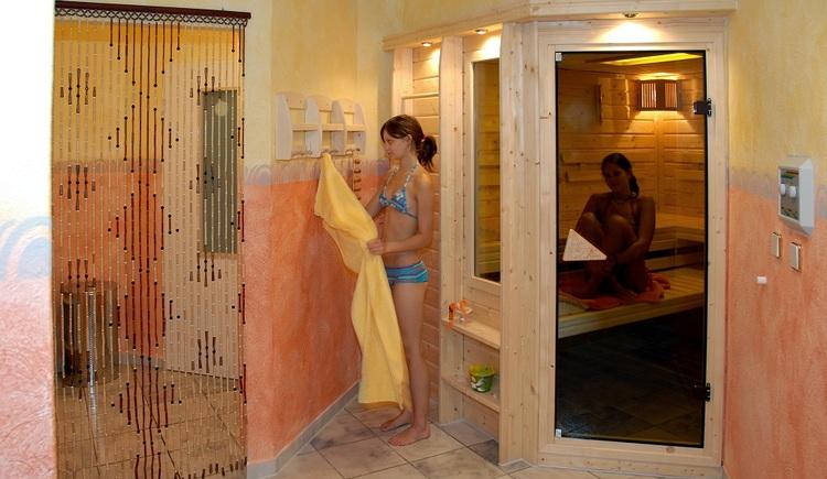 Sauna im Bergkristall (© Hotel-Restaurant Bergkristall)