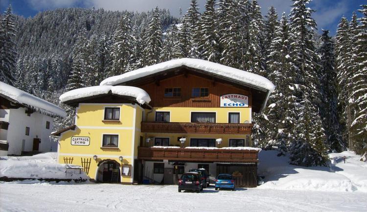 Exterior view of the Echo Inn