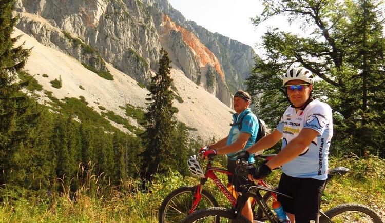 Mountainbiken in der Ferienregion Dachstein-Salzkammergut. (© www.agathawirt.at)