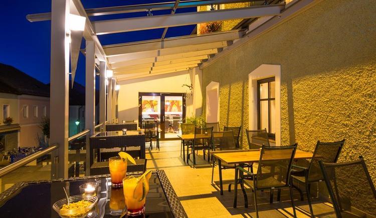 Terrasse (© Hotel Fürst)