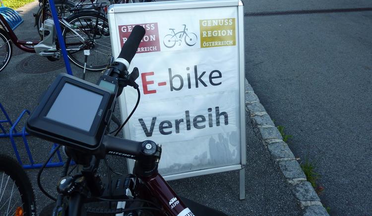 E-Bike-Verleih (© Gemeinde)