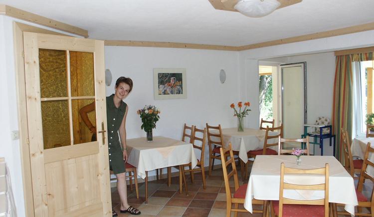Frühstücksraum (© Pension Haus Helene, Fam. Haidinger)