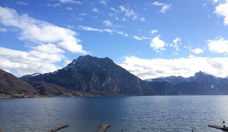 Ausblick vom Hotel (© Schweizerhof am See)