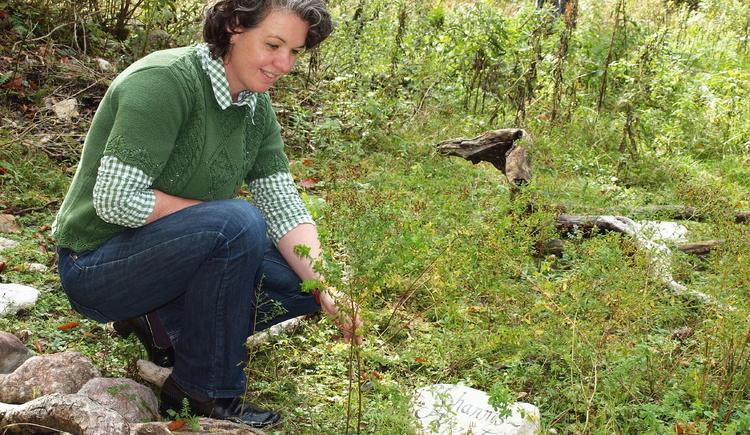 Maria Hagendeder führt Sie durch die Natur
