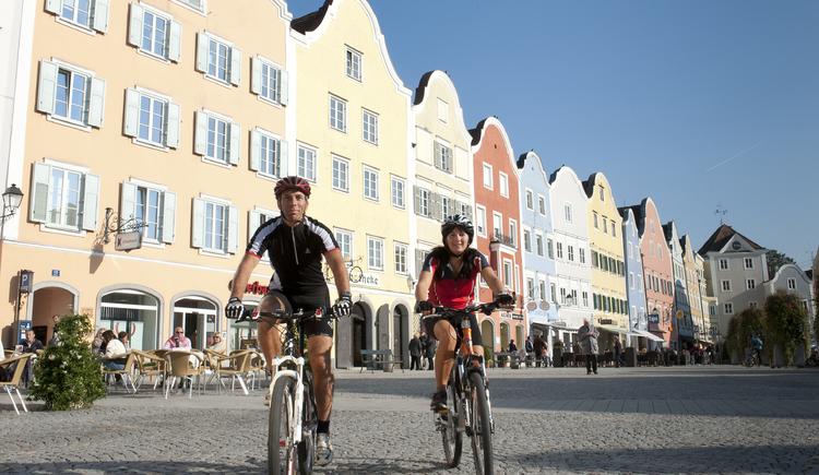 Schärding - Eldorado für Radfahrer (© Tourismusverband Schärding)