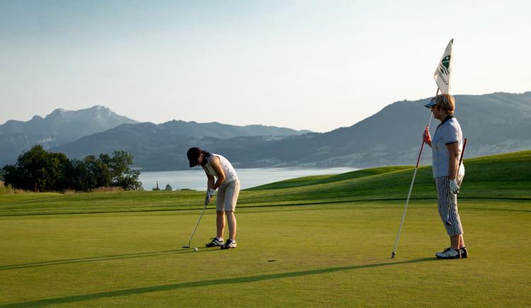 Attersee Golfclub Weyregg Loch 8 (© Attersee Golfclub Weyregg)