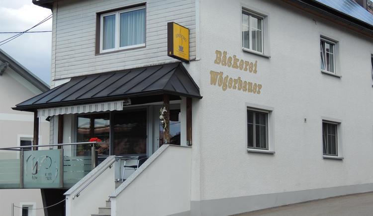Bäckerei-Cafe Wögerbauer - unser Haus (© TV Böhmerwald)