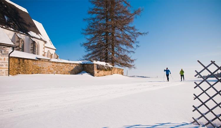 Langlaufen in Grünbach (© OÖTM_Erber)