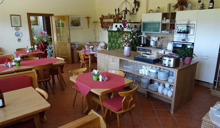 Frühstücksraum mit Küche
