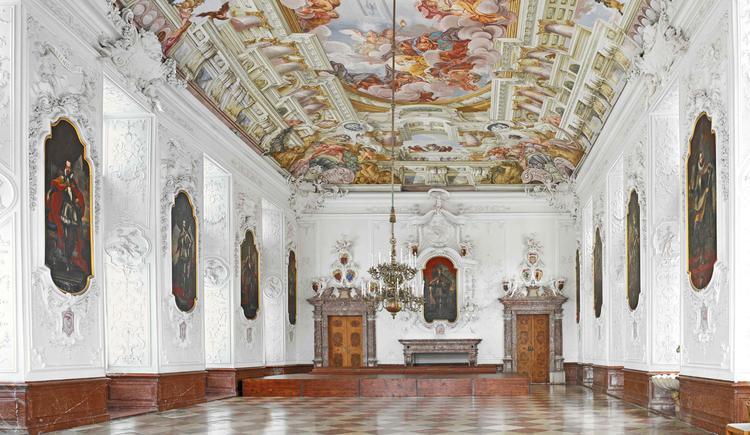 Kaisersaal im Stift Kremsmünster. (© Stift Kremsmünster)