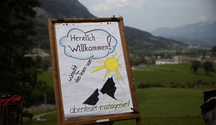 Seminarraum in der Natur (© Abenteuer Management - Daniel Hinteramskogler)