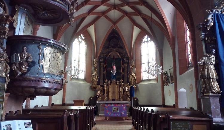 Pfarrkirche zur Hl. Margareta (© Johanna Provatopoulos)