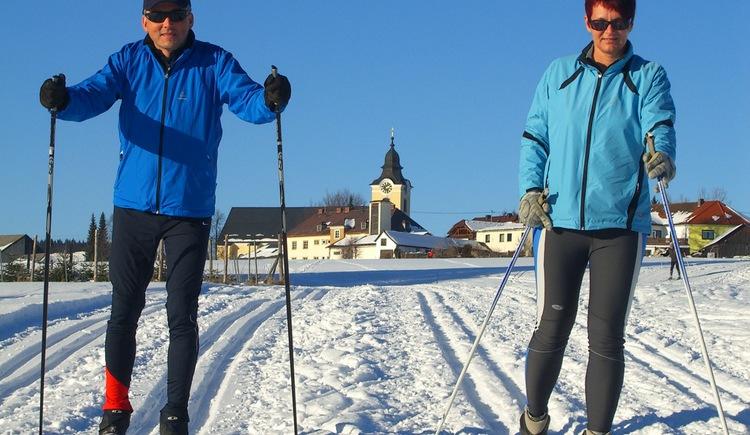 Langlaufen in Sandl (© Gemeinde Sandl)