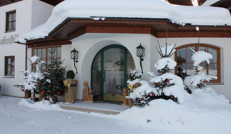 Hotel Bergrose in Strobl im Winter. (© Bergrose)