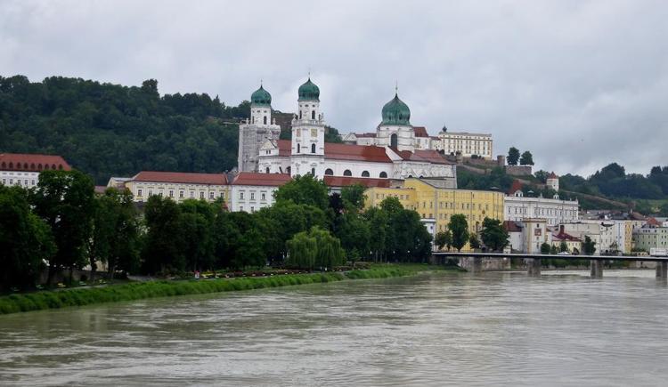 Blick auf Passau (© WGD Donau Oberösterreich Tourismus GmbH/Kranzmayr)