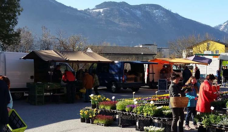 Wochenmarkt (© Tourismusbüro Ebensee)
