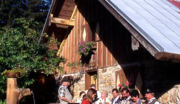 Hut Grögernalm in Faistenau (© Grögernalm Faistenau)