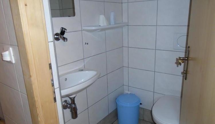 Toilette (© A. Hofmann)