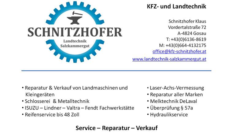Klaus Schnitzhofer Logo with address