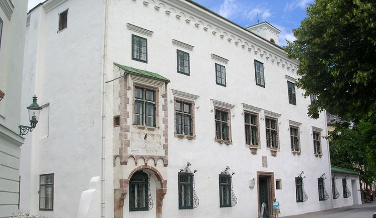 Kammerhofmuseum. (© TVB Ausseerland - Salzkammergut)