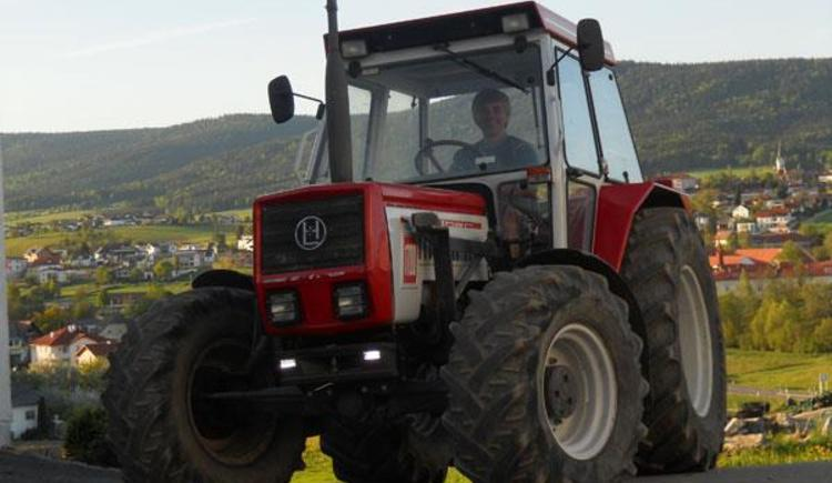 Arbeit am Bauernhof (© Privat)