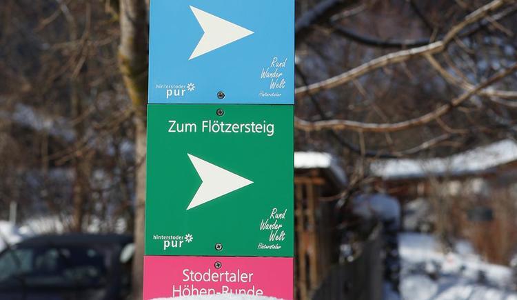 Hotel Garni Wallner Hinterstoder Winterwanderweg