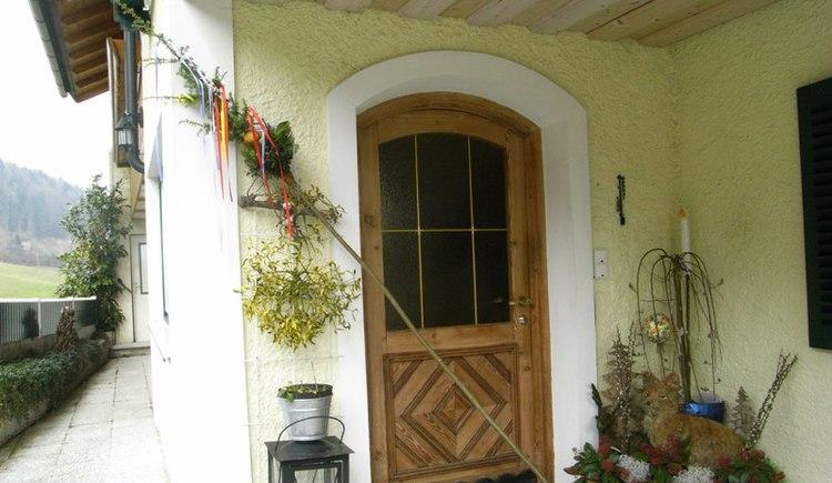 Haus am Wald Eingang