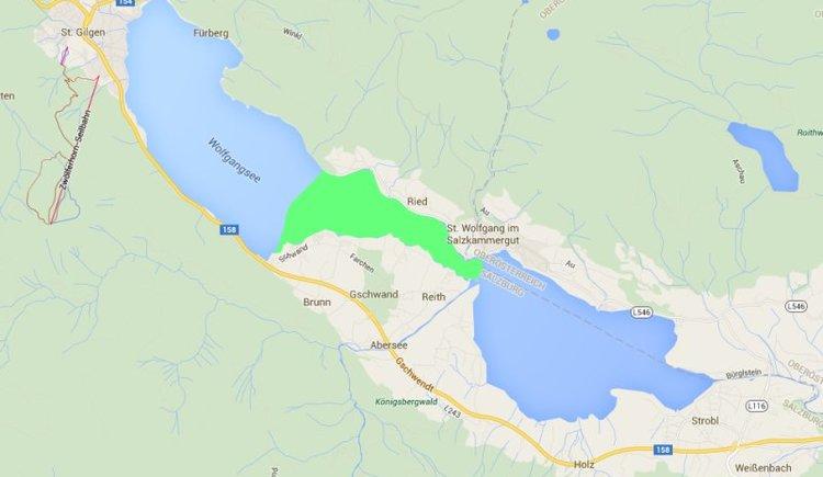 Teilgebiet Ried-Schwand. (© WTG)