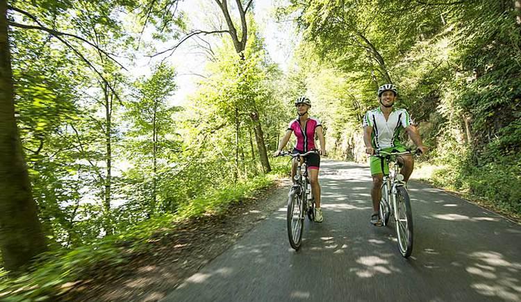 Radfahren in Oberoesterreich (© OÖ. Tourismus/Erber)