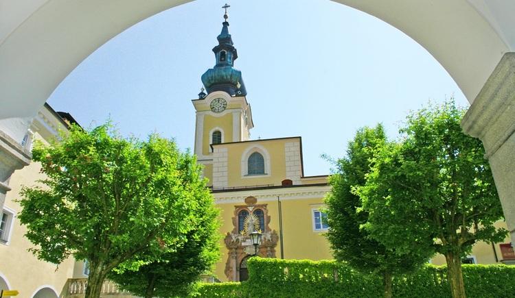Stift Schlägl in Aigen-Schlägl (© Ferienregion Böhmerwald)