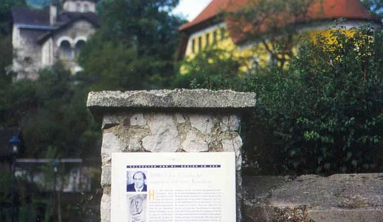 Kulturweg mit Texten von Alfred Komarek