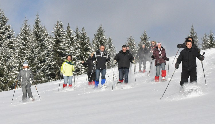 Schneeschuhwanderung. (© Abenteuer Management)