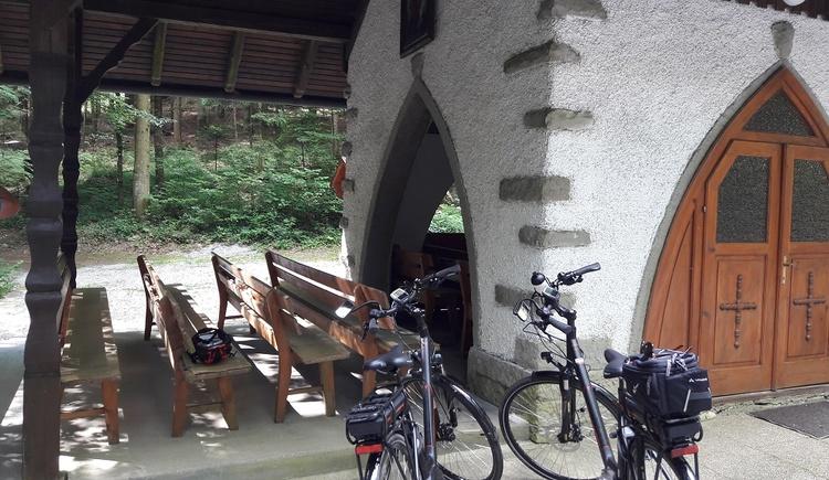 Eherholzkapelle kurz nach Niederkraml (© Ferienregion Böhmerwald | Felhofer)