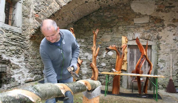 Holzschnitzer (© Kulturverein Piberstein)
