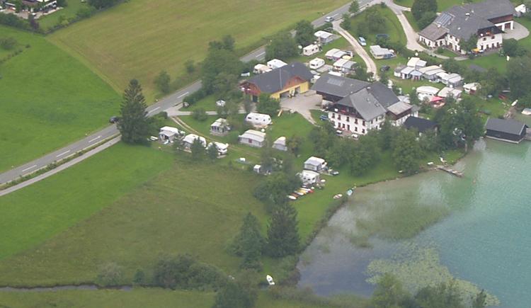 Luftaufnahme vom Camping Seewinkl (© Ing. Roland Leitner)