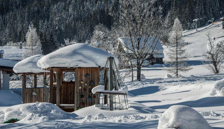 Garten im Winter (© Wolfgang Stadler / Stadlerei)