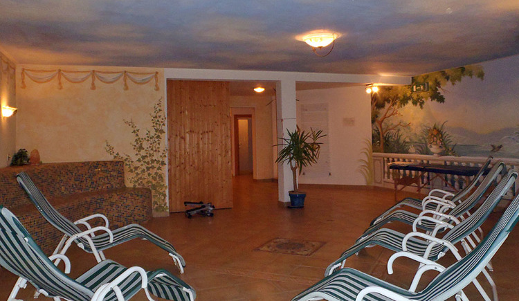 Here you will see the spa area of Hotel Goisererhof