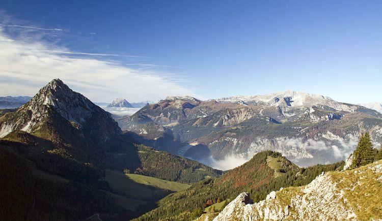 Bosruck-Grimming-Warscheneckblick (© TVB Pyhrn-Priel/Sulzbacher)