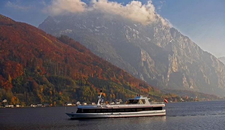 Schiff Karl Eder (© Traunseeschifffahrt)