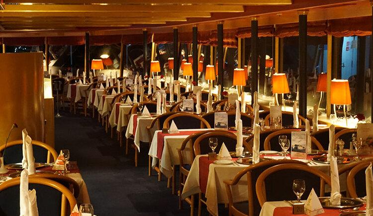Restaurant auf der MS Primadonna auf der Donau (© Donau Touristik)