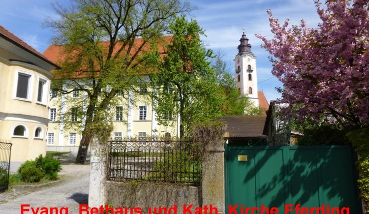 Weg des Buches Pilgerweg Oberösterreich (© Evang. Pfarrgemeinde Wallern)
